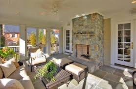screen porch furniture. Brass Fireplace Screen Porch Traditional With Patio Furniture Birdhouses G