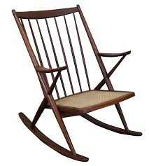 Rocking Chair Modern frank reenskaug bramin danish modern rocking chair chairish 3836 by guidejewelry.us