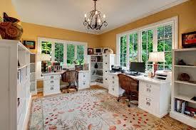 double office desk. double desk home office design idea pedestal