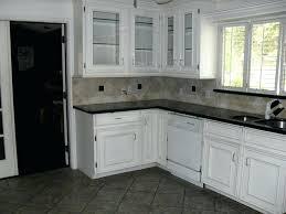 black floor kitchen finest kitchen floor tile ideas white cabinets dark grey shiny tiles with black