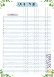 Download Printable Teacher Planner Floral Style Pdf