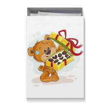 Коробка для футболок <b>Мишка Тэдди</b> #2431061 от BeliySlon - <b>Printio</b>