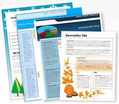 Newsletters Templates Free Printable Newsletters Newsletter Templates Email