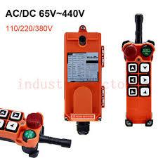 <b>Industrial Wireless Radio</b> Remote Control Overhead EOT <b>Crane</b> F21 ...