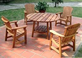 wooden outdoor furniture plans. Wooden Patio Furniture Remarkable Natural Wood Outdoor Table Plastic Set Plans D