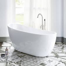 small freestanding soaking tub. Interesting Small 54 With Small Freestanding Soaking Tub Q