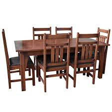 Mission Style Dining Room Tables And Chairs For Sale