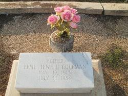 Effie Jewell King Coleman (1913-1984) - Find A Grave Memorial