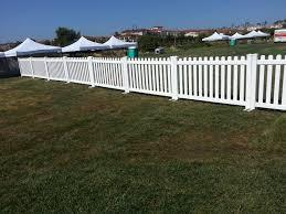 white fence. Picket White Fence