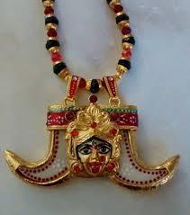 hindu dess kali double faux tiger claw pendant necklace