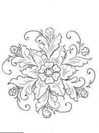Norwegian Rosemaling Tattoo You Kleurplaten Patronen Kleuren