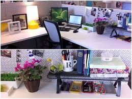 decorating office desk. If You Work In A Cubicle, Chances Are That It\u0027s Grey And Dull. Luckily, There Cubicle Decor Ideas To Help Spruce Up Your Workspace! Decorating Office Desk I