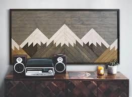 25 mountain wall art designs to
