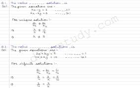 pair of linear equations in two variables cce mcqs r d sharma dronstudy com