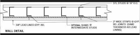 Lead Lined Drywall Lead Lined Sheetrock Lead Walls