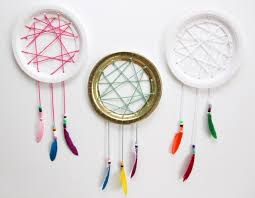 Dream Catcher Party Plates Mesmerizing Easy Paper Plate Dream Catcher Tutorial Smashed Peas Carrots