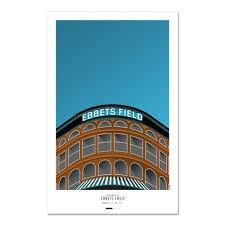 Ebbets Field Seating Chart Ebbets Field Seats Brooklyn Dodgers The Stadium Shoppe
