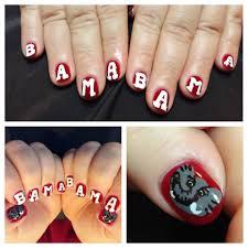 Alabama Nail Art Designs Bama Nails Bama Nail Art Bama Nailart Nails Nailart Nail