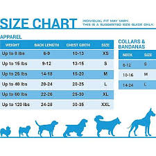 Weight Size Chart Size Chart Pets First Dog Weight Wide Open Pets