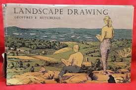 landscape drawing hutchings geoffrey e with a foreword by david linton