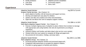 Medical Social Worker Resume Career Objectives For A Resume
