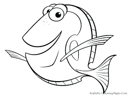 Printable Fish Template Fish Templates To Print Coloring Pages Free