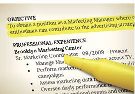 resume with objective how to write an effective objective for a resume