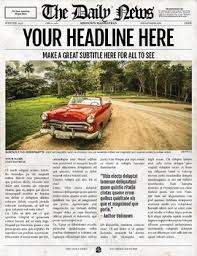 Newspaper Template Indesign 2x1 Page Newspaper Template Adobe Indesign 8 5x11 11x17 Inch