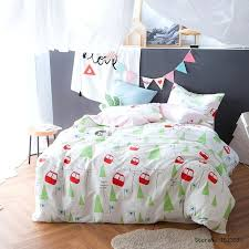 green and pink bedding sets green pink bus cable car cartoon bedding set cotton boy girls