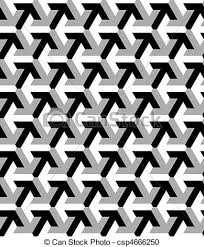 Arrow Pattern Enchanting Vector Seamless Pattern Made With Arrow Black And White Vector