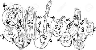 Small Picture Happy Veggie Coloring Pages 23 10114