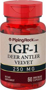 <b>IGF</b>-<b>1 Deer Antlers Extract</b> | Benefits | Reviews | Piping Rock Health ...