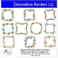 Decorative Designs For Borders