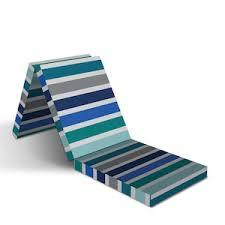 Снимката е илюстративна, матракът се изпраща в цветове според наличност. Sgvaem Matrak Za Gosti Gloria Stripe 190x60x7sm Emag Bg