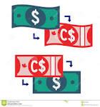 Change dollar canadien en americain