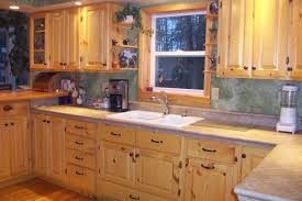 recent photo 3011 southern yellow pine kitchen cabinets