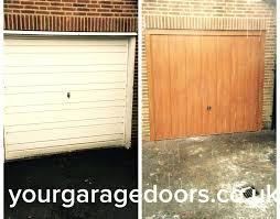 garage door window frame replacement steel garage door with a golden oak foil to match the window frames and