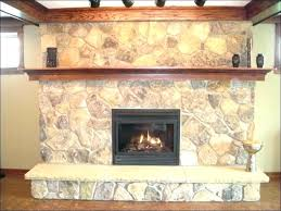 electric fireplace with stone castlecreek electric stone fireplace heater