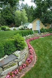 flower bed border ideas source wooden