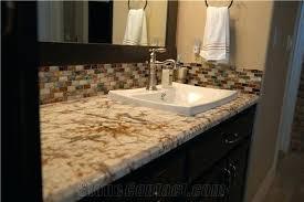 granite bathroom countertops. Granite Bathroom Vanity Tops Gold Vanities Counter Yellow Premade . Countertops