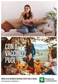 COVID19 Con il vaccino puoi, la campagna di Regione Lombardia dedicata agli  under 20 | News