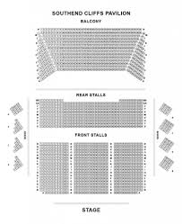 Awesome Cliffs Pavilion Seating Plan