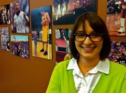 student intern hayley bruce iowa women in journalism menu