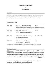 Great Resume Objectives Stunning Examples Of Good Resume Objective Statements Keni