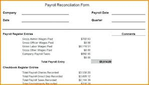 wages register in excel template payroll reconciliation format in excel template 6 simple