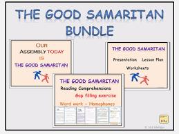 Parable The Good Samaritan, Assembly/Lesson Presentations, Lesson ...