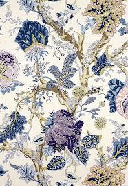 Fabric | Indian Arbre in Hyacinth | Schumacher