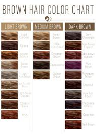 Cinnamon Hair Color Chart 24 Shades Of Brown Hair Color Chart To Suit Any Complexion
