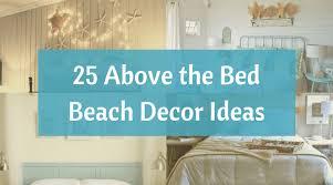 bed beach themed decor ideas