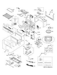 parts for ge jvm1440wh01 microwave appliancepartspros com GE Spacemaker Microwave Oven at Ge Microwave Wiring Diagram